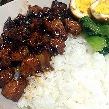 超级美味台湾卤肉饭