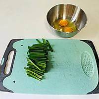 韭菜鸡蛋饼(韭菜炒蛋)二种做法的做法图解2