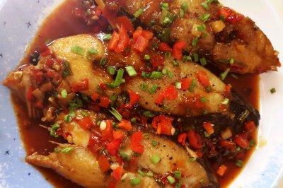 香辣下饭-干烧鲅鱼