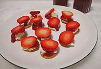 草莓奶酪小饼干的做法
