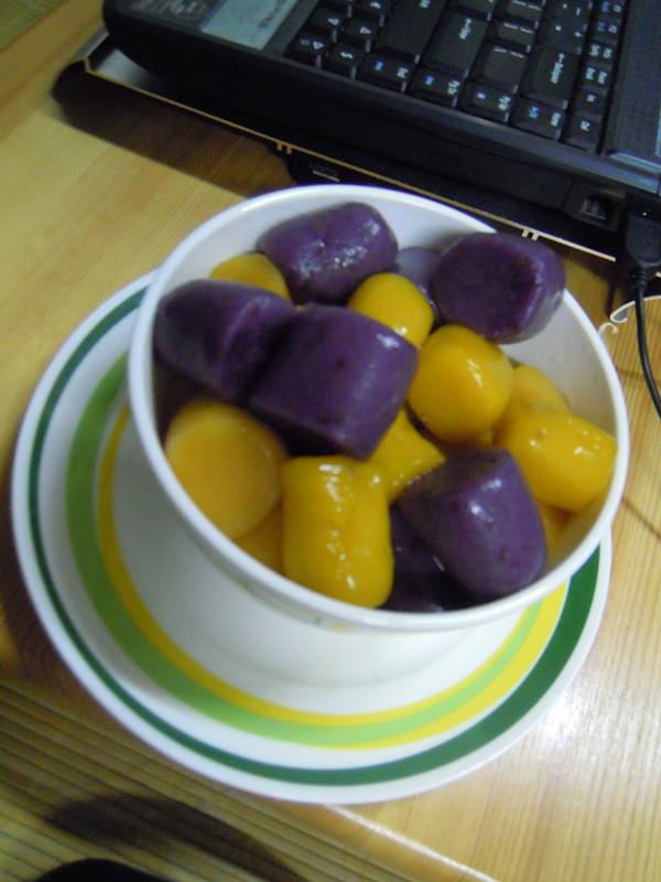 双薯南瓜芋圆的做法图解12