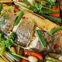 永远吃不够的烤黄花鱼的做法图解11