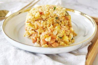 黄金蛋炒饭(炒菜机)