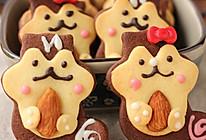 小心松鼠兵团来袭------松鼠杏仁饼干的做法