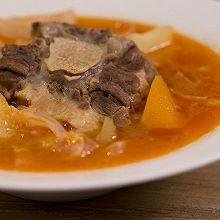 罗宋汤,浓稠鲜艳的下饭汤