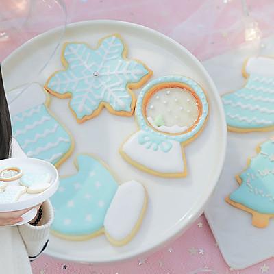 甜心蓝圣诞饼干「厨娘物语」
