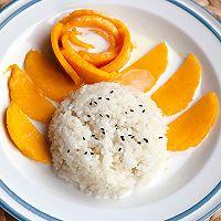 #麦子厨房#美食锅制作椰汁芒果糯米饭的做法图解10