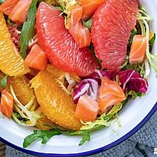 橙柚沙拉|清爽低脂