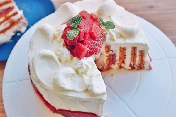 赤霞珠红酒梨蛋糕