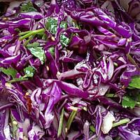 凉拌紫甘蓝