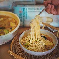 韩式泡菜风味汤面的做法图解10