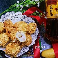 金丝虾球#金龙鱼外婆香小榨菜籽油 我要上春碗#
