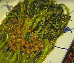 普宁豆酱炒空心菜的做法