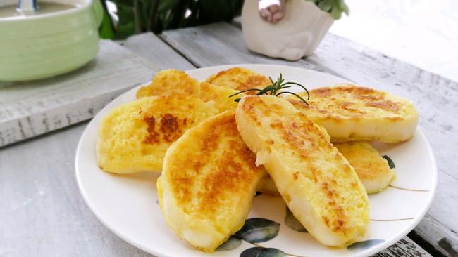 椰香鸡蛋馒头片的做法