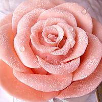 【巧克力玫瑰花蛋糕】——情人节浪漫蛋糕