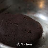 口感超乎想象的【钻石巧克力豆饼干】的做法图解5
