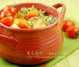 茄汁肉汤粉条锅的做法