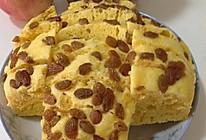 葡萄干玉米面发糕的做法