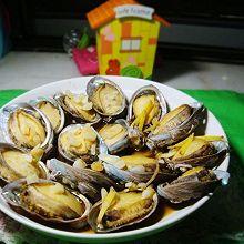 蒜蓉豉油蒸鲍鱼