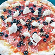#換著花樣吃早餐#在家吃披薩也可以很簡單