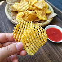 金黄脆薯格的做法图解12