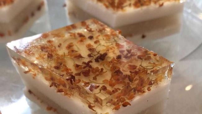 桂花椰汁糕的做法