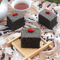 蒸黑米糯米糕#自己做更健康#的做法图解9