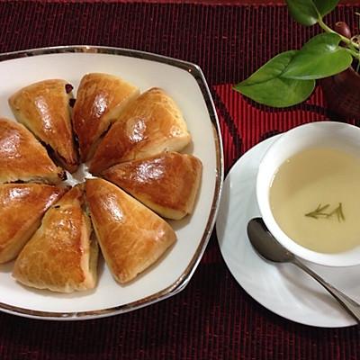 【酵母版蔓越莓司康】喚醒味蕾的快手早餐