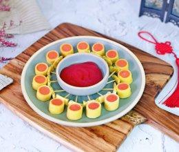 #钟于经典传统味#春节小零食&豆皮香肠卷棒棒糖的做法
