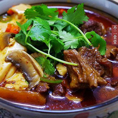 辣牛肉炖豆腐