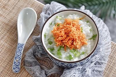 辣松青菜粥