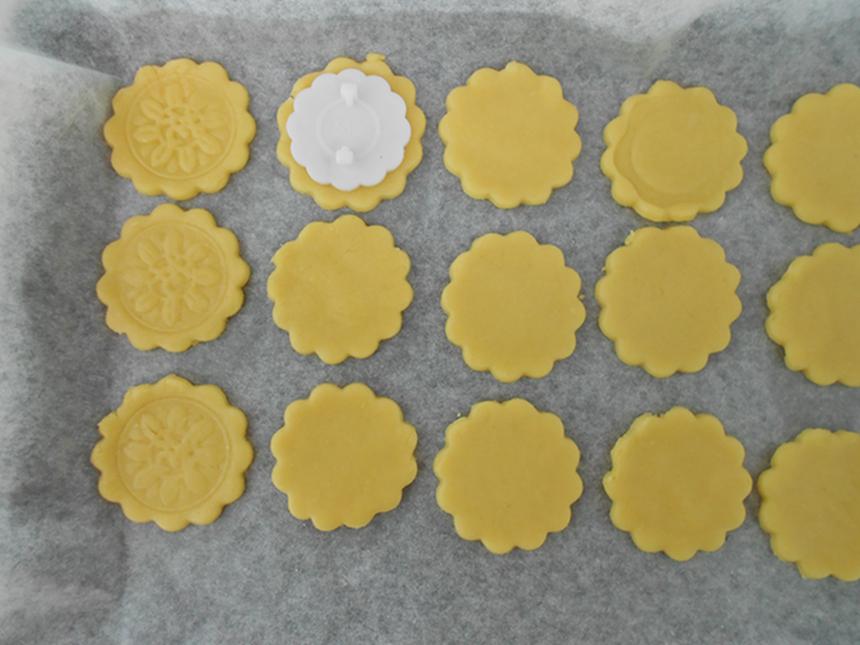 月饼花纹饼干#长帝烘焙节