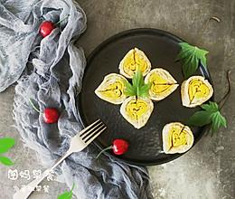 #美食新势力#藜麦爱心厚蛋烧的做法