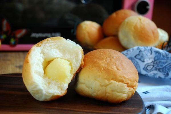 奶黄馅小餐包
