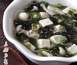 真姬豆腐紫菜汤的做法