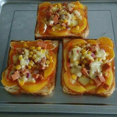 超级简单披萨!面包披萨~Duang……