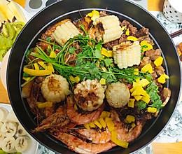 懒人饭——三鲜酱香焖锅的做法