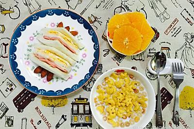 娃娃早餐:三明治