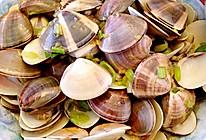 葱头油拌蛤蜊的做法