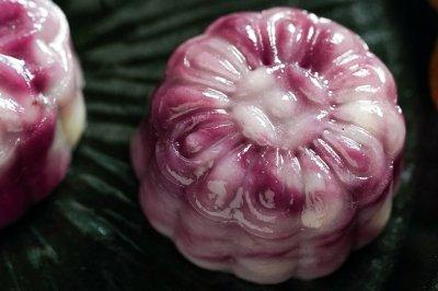 日食记 | 紫薯流心月饼