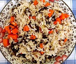 紫菜胡萝卜米饭的做法