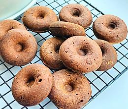 快手简单的巧克力甜甜圈的做法