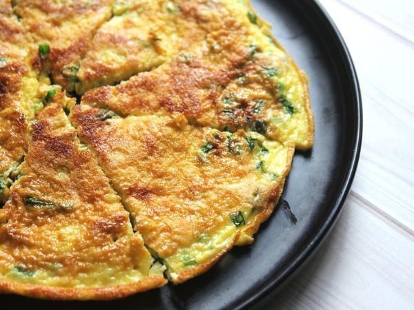 10分钟出锅好吃又好看的葱花蛋的做法