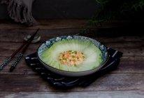 虾茸蒸冬瓜的做法