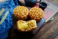 金沙奶黄肉松月饼#晒出你的团圆大餐#的做法