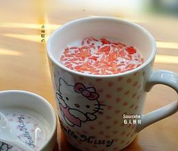 给早餐加维生素C,西柚酸奶的做法