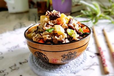 潮汕戈饭–牛肉戈饭