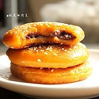 利仁电饼铛试用之豆沙南瓜饼的做法图解15