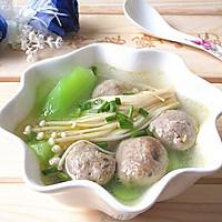 菌菇莴笋牛肉丸汤的做法图解11