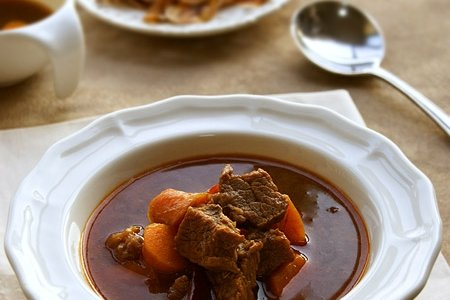 红烧牛肉汤的做法
